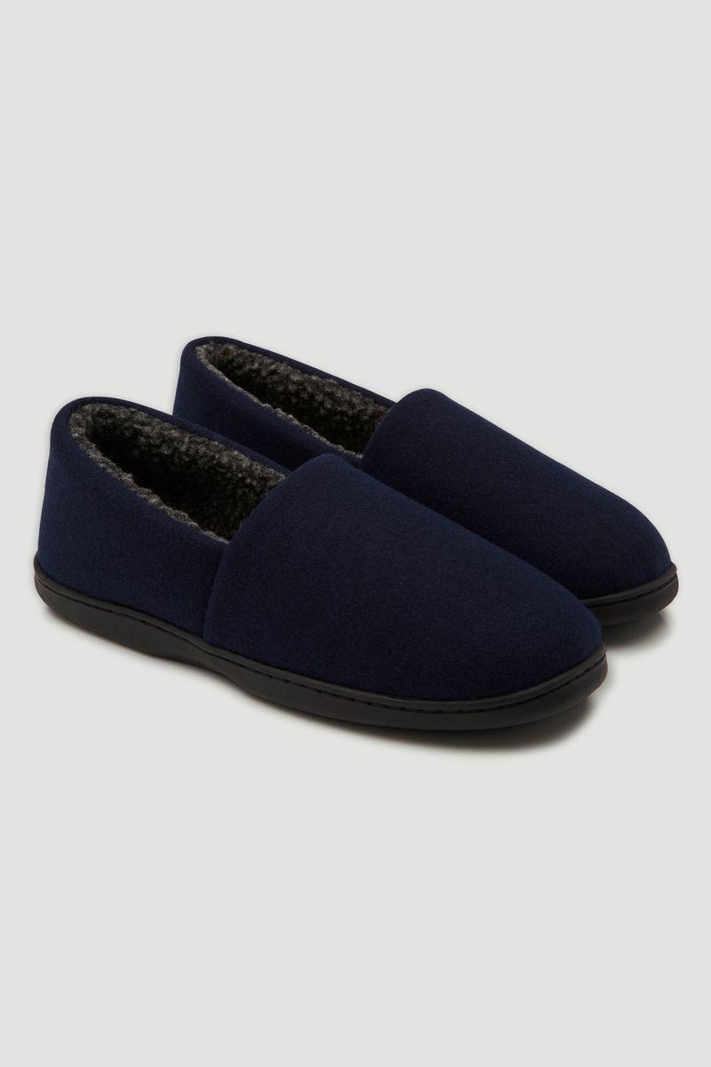 Navy Comfort Slippers