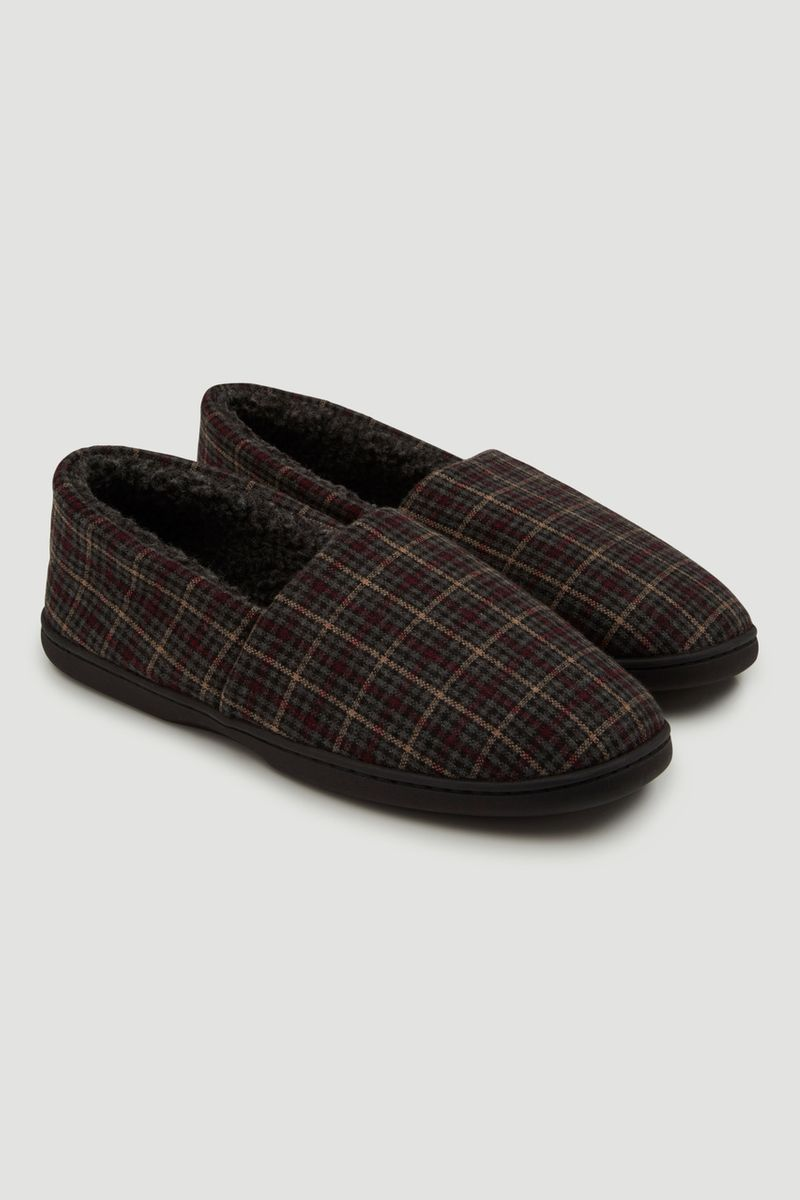 Check Comfort Slipper