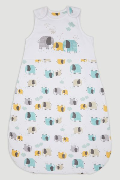 Elephant Print 2.5 tog Sleeping Bag