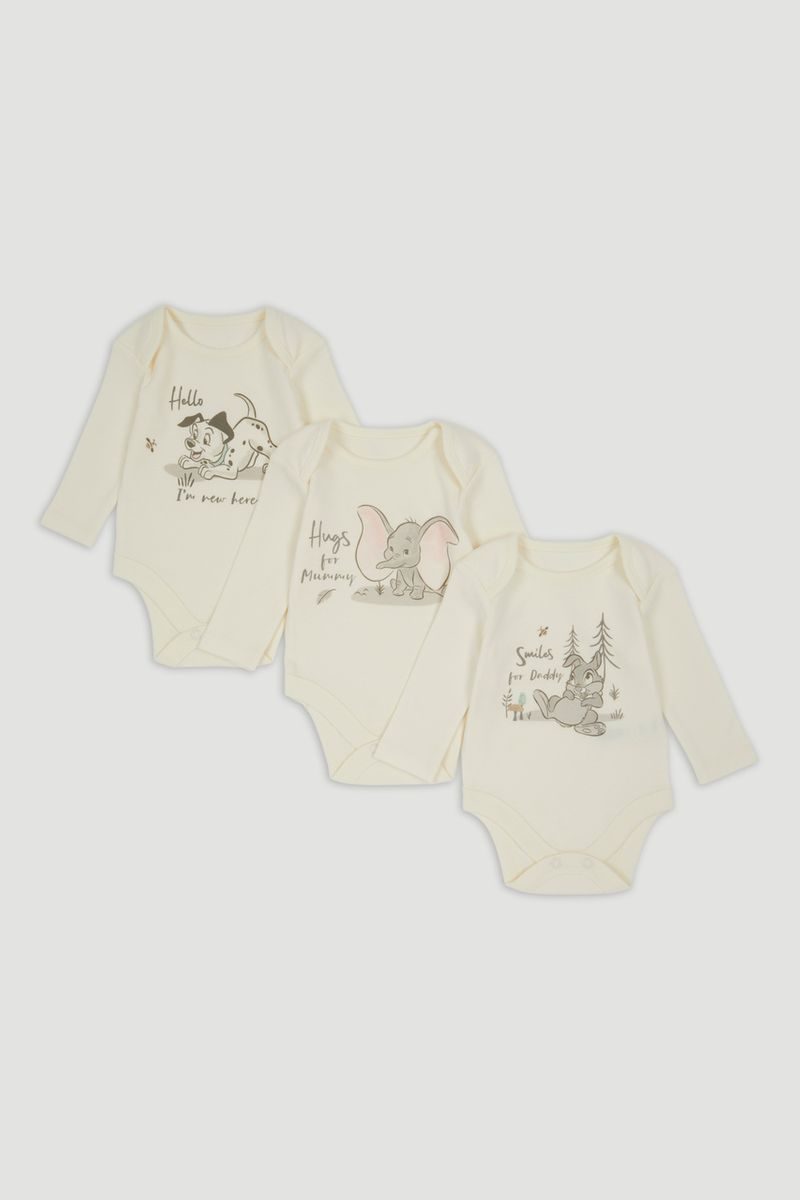 Disney Classics 3 Pack My First Bodysuits