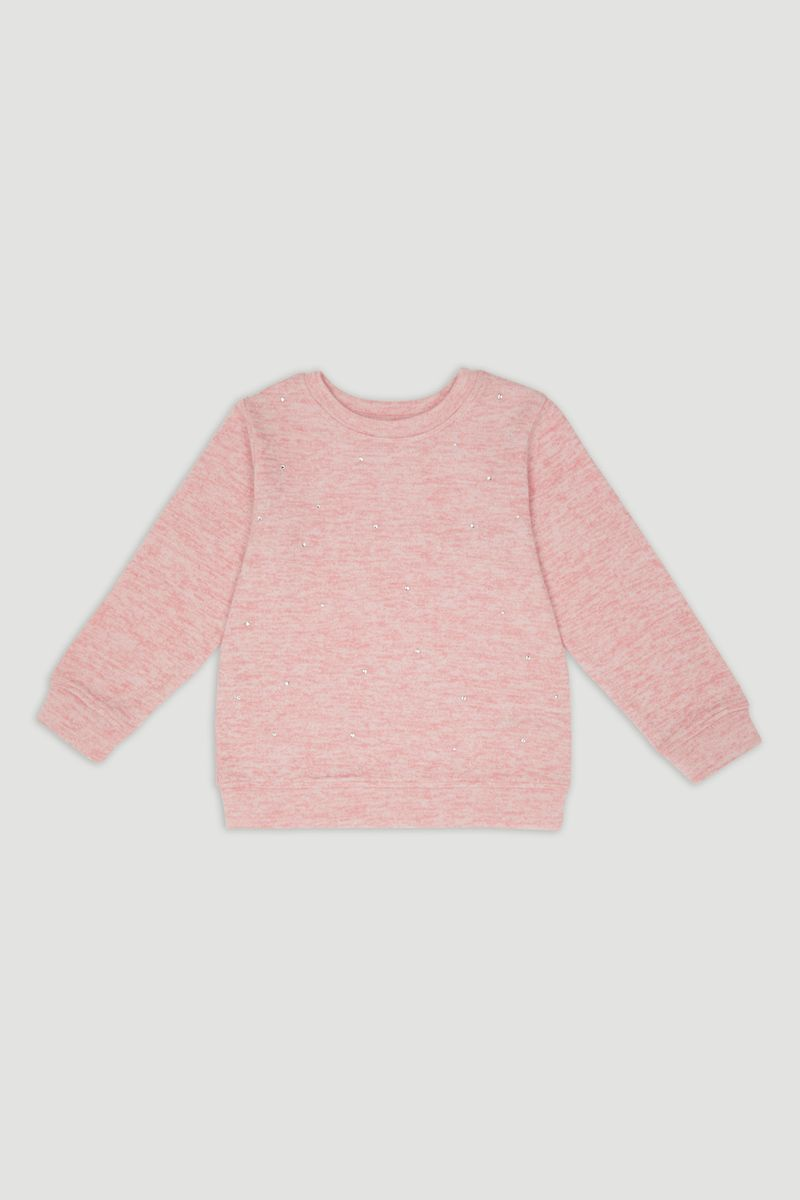 Pink Gem Detail Jumper
