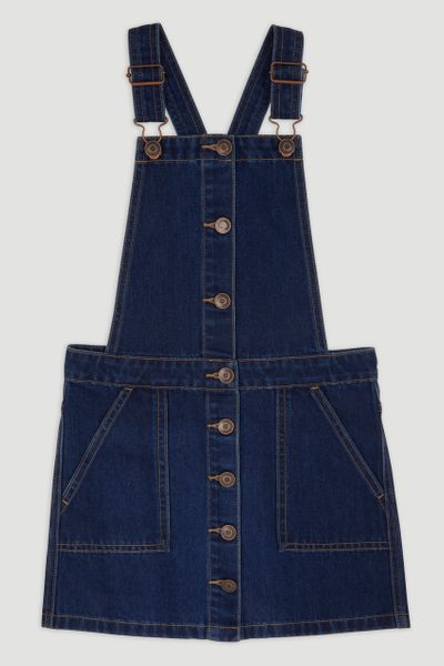 Denim Pinafore Dress 3-14yrs