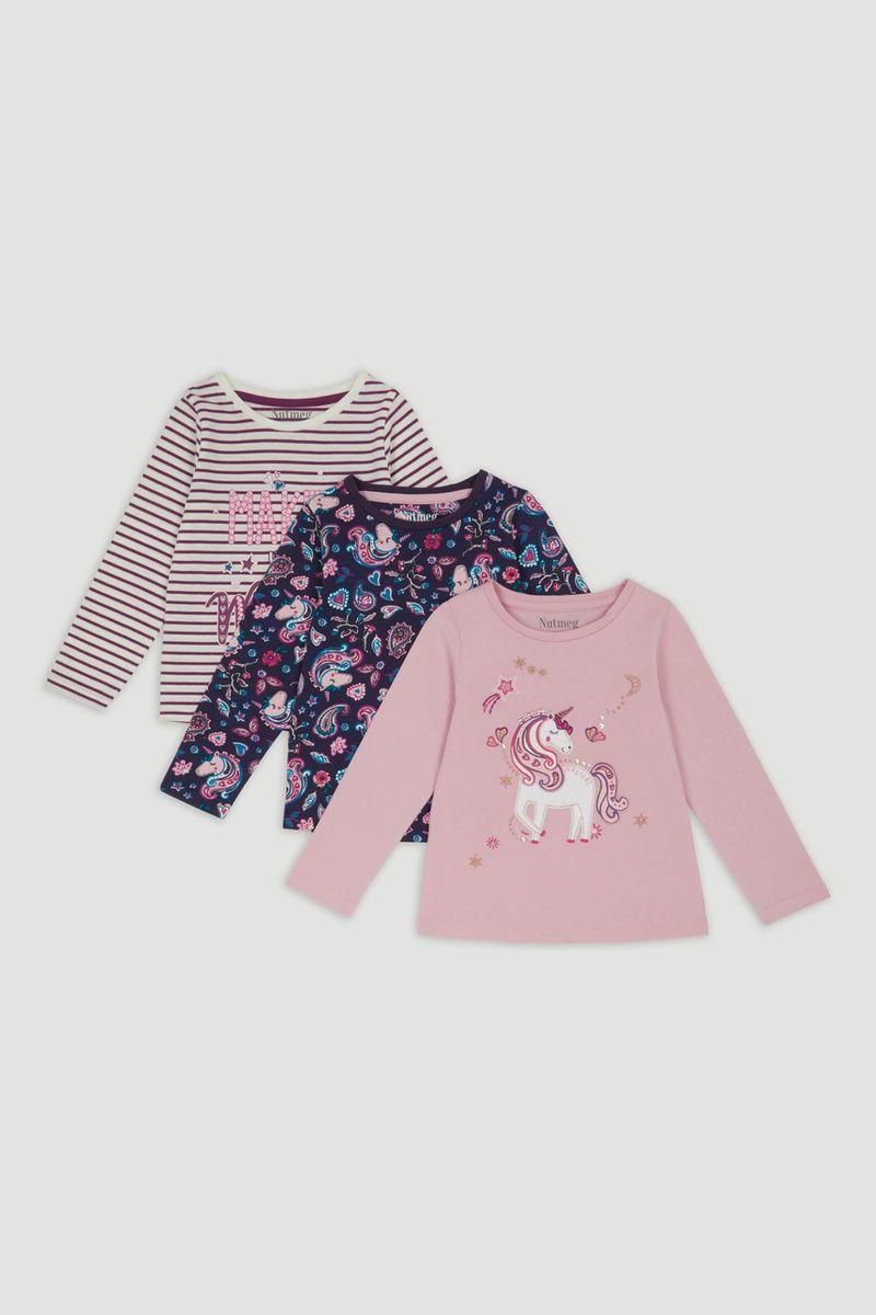 3 Pack Magical Unicorn t-Shirts