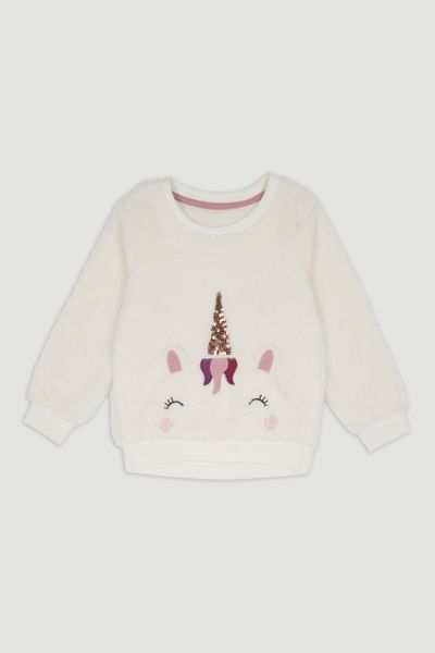 Fleece Unicorn Sweatshirt