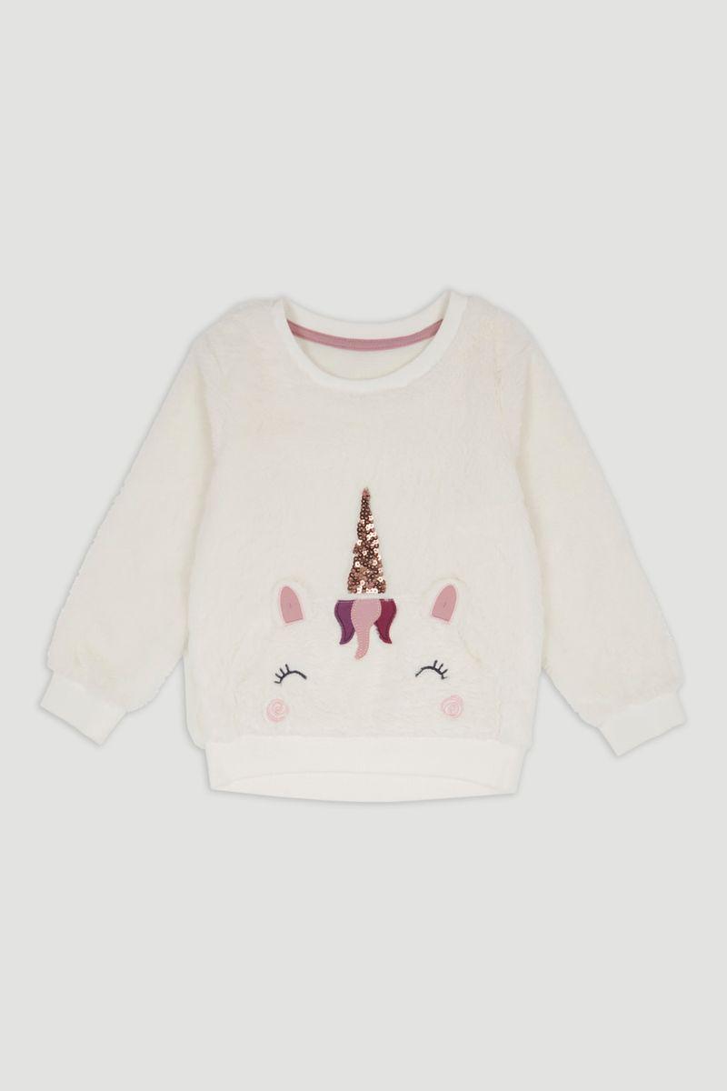 Fleece Unicorn Sweatshirt