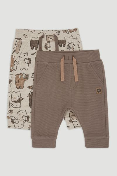2 Pack Brown bear Joggers