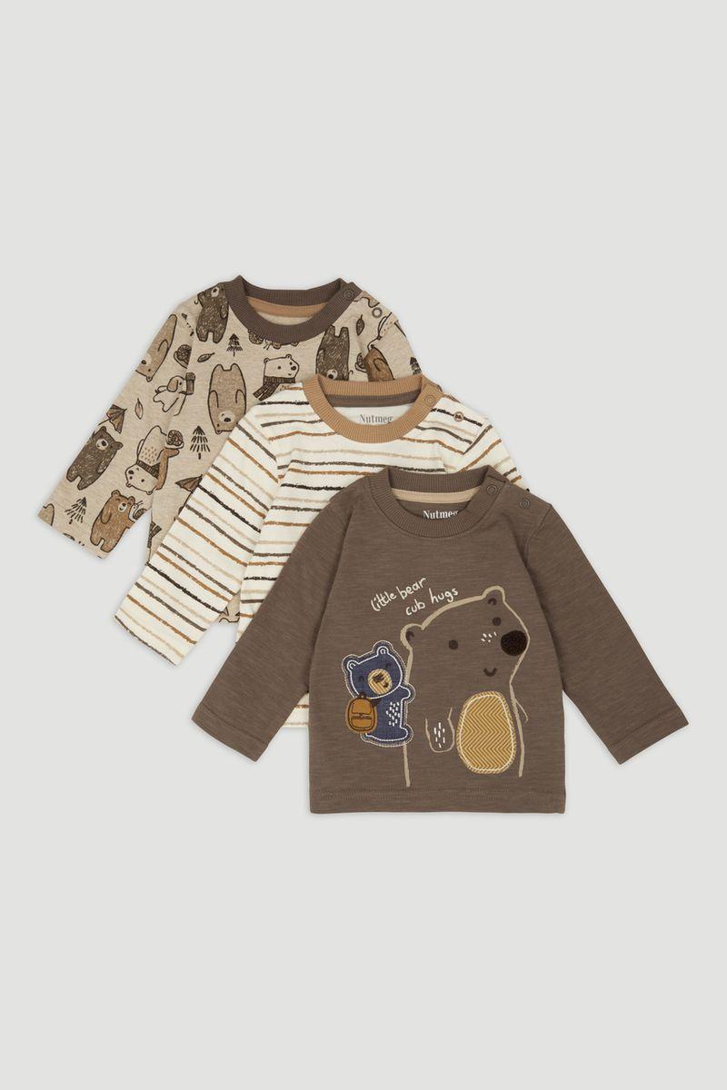 3 Pack Bear cub T-Shirts