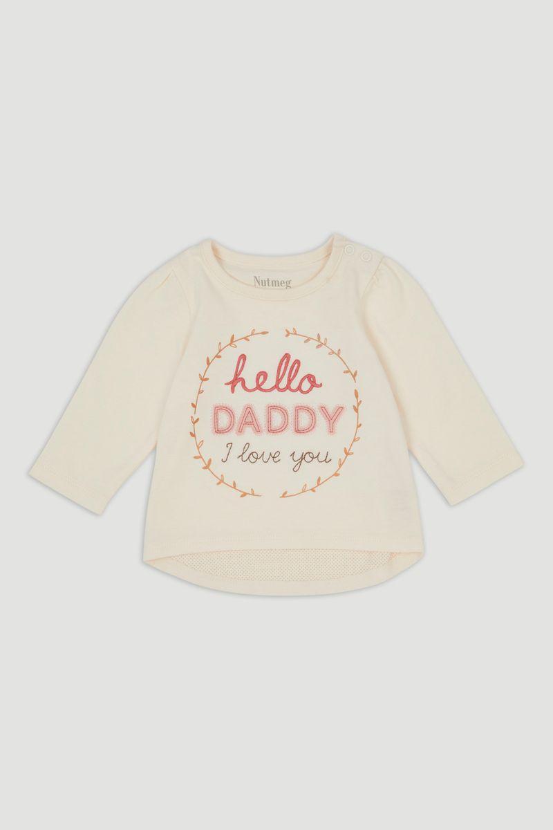 Hello Daddy Long Sleeve T-Shirt