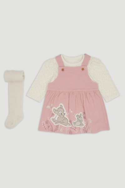 Disney Classics Bambi Pinafore Dress set