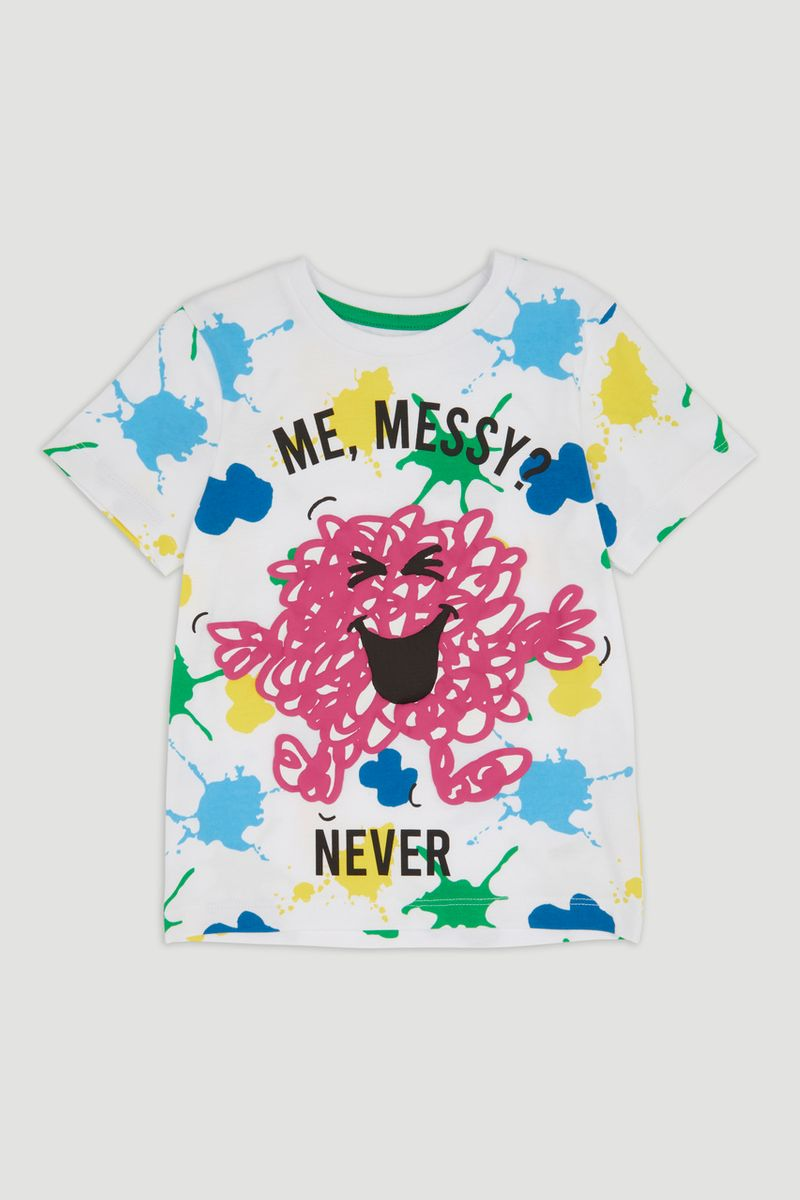 Mr Men Mr Messy T-shirt