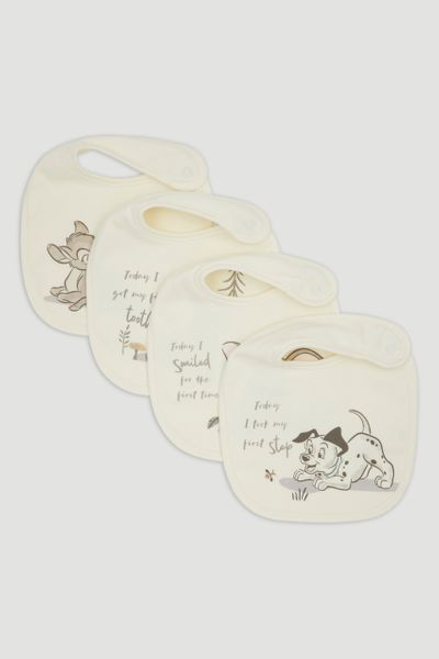 Disney Classics 4 Pack My First Bibs