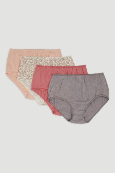 4 Pack Animal Full Brief