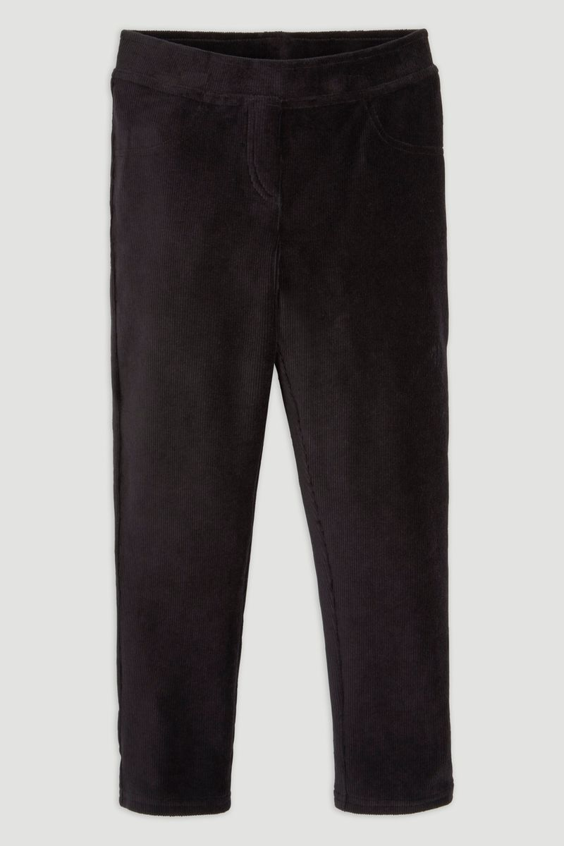 Black Velour Leggings Olders