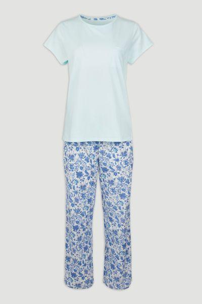 Mint Paisley Pyjamas