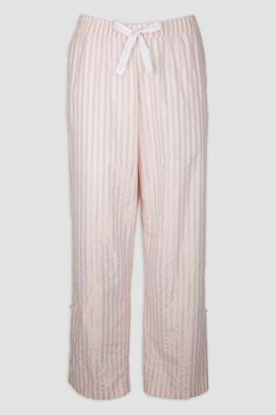 Pink Rose Gold Stripe Pyjama Bottoms