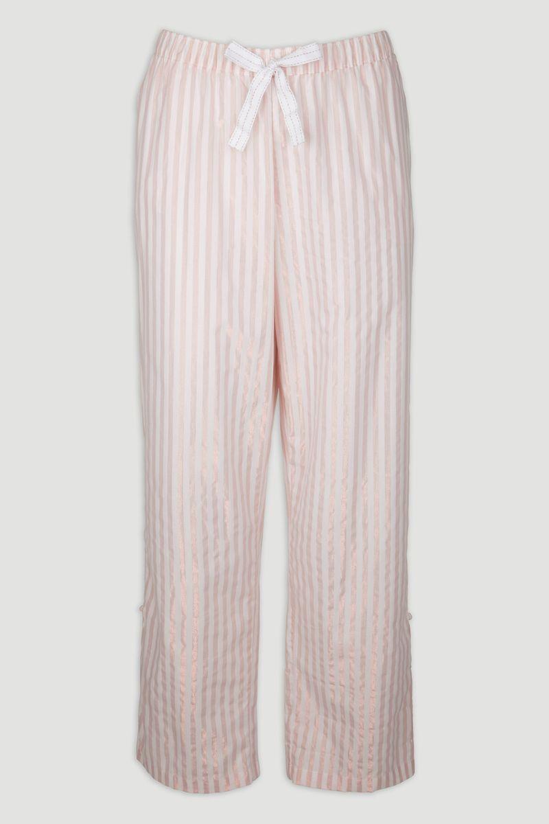 Pink Rose Gold Stripe Pyjama Bottoms