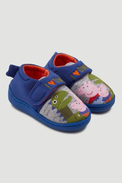 Peppa Pig George Pig Dino Slippers