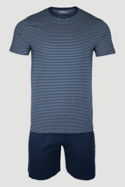 Navy Stripe Pyjamas