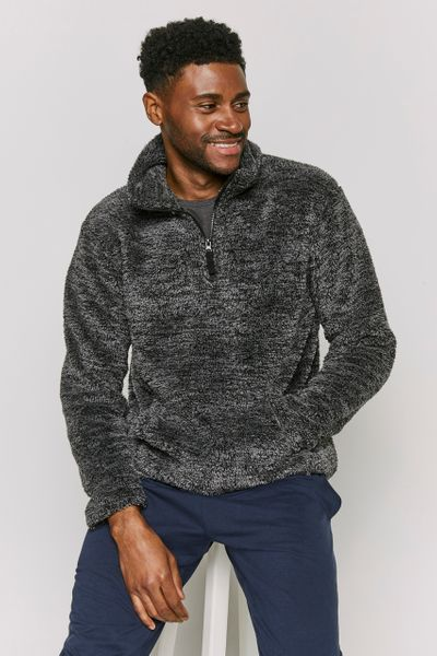 Overhead Grey Fleece Jumper