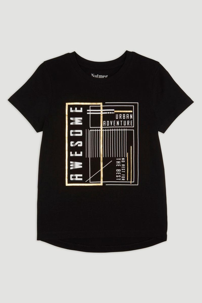 Foil Print T-shirt