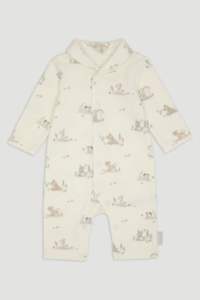 Disney Classics Cream Footless Sleepsuit