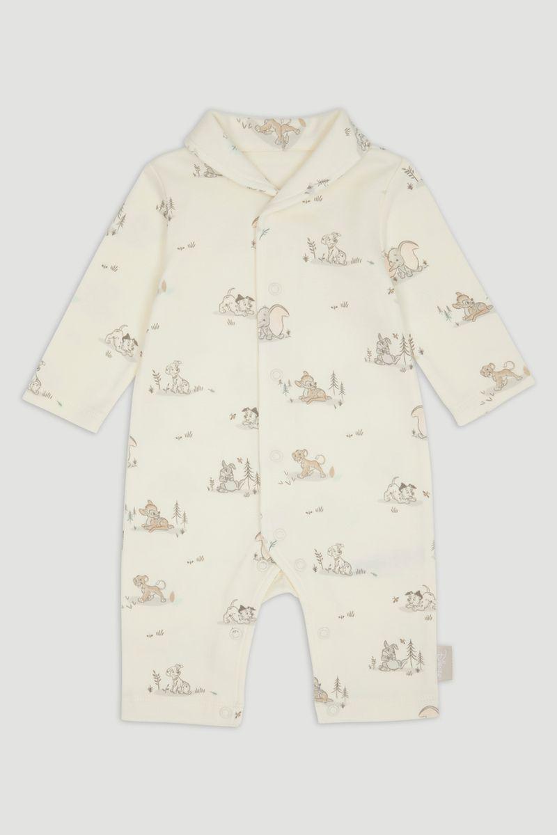 Disney Classics Cream Footless Sleepsuit
