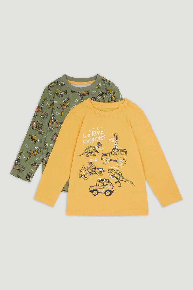 2 Pack Dino T-shirts