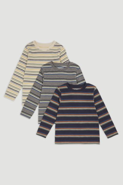 3 Pack Stripe T-shirts
