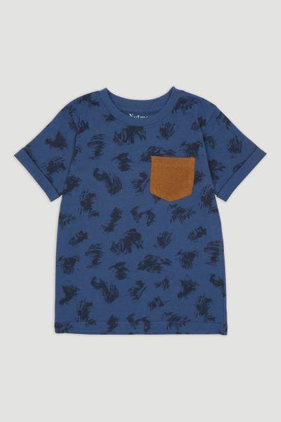 Brushstroke Print T-shirt