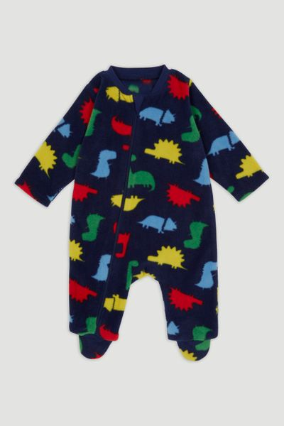 Dinosaur Fleece Onesie