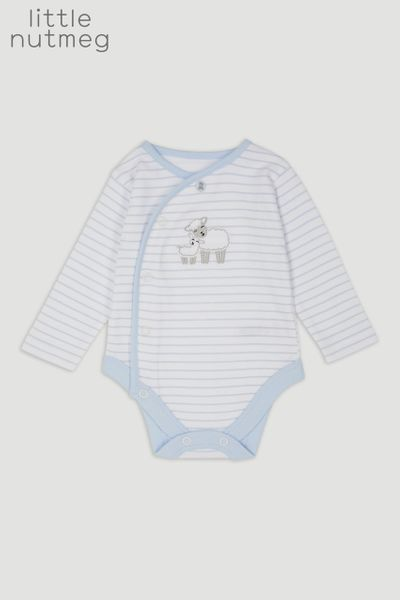 Little Nutmeg White Lamb Bodysuit
