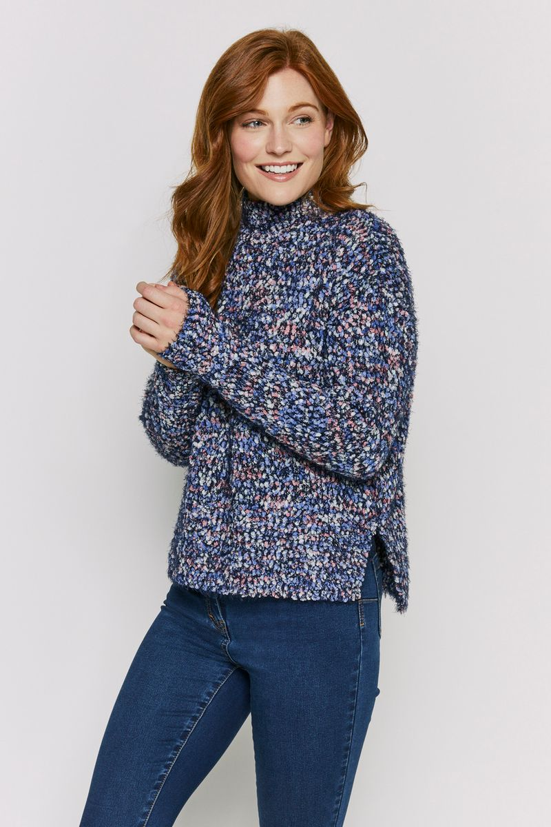 Blue Bobble Jumper