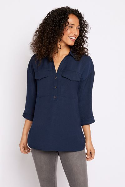 Navy Overhead Shirt
