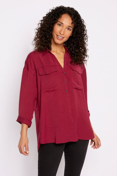 Berry Overhead Shirt