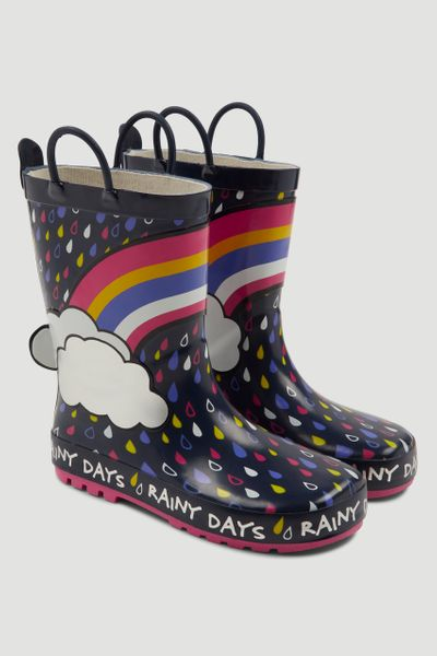 Rainbow Wellies