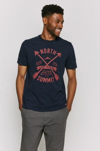 Navy North Summit T-Shirt