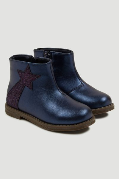 Navy Shooting Star Boots