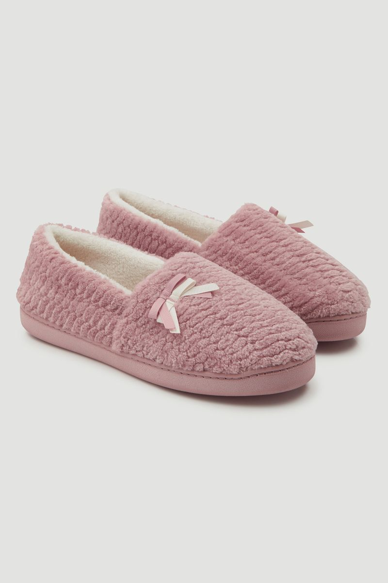 Pink Comfort Slippers