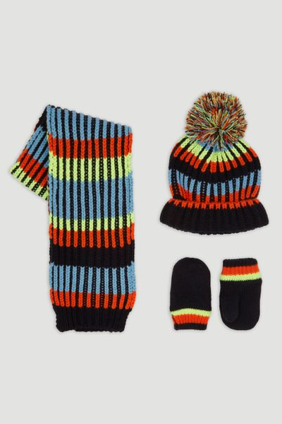 Neon Fairisle 3 Piece Set