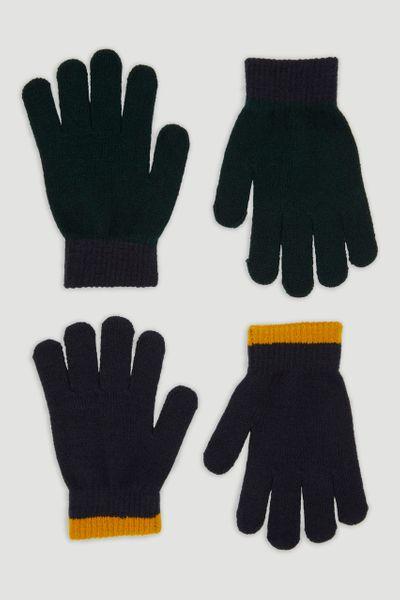 OchreStripe Gloves