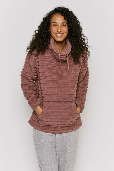 Fleece Funnel Neck Jumper