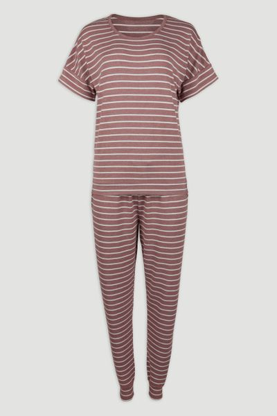 Pink Stripe Pyjamas