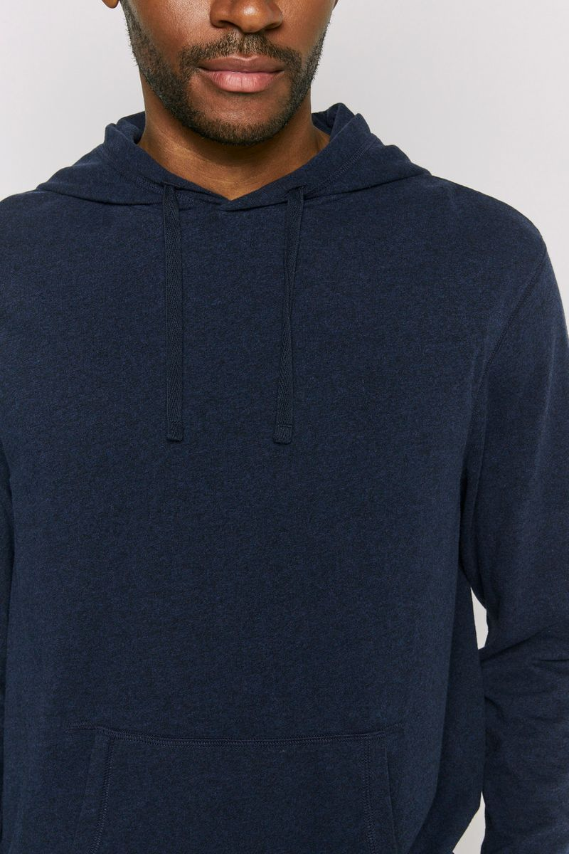 Blue Check Fleece Pyjama Bottoms