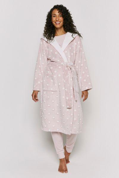 Pink Spot Robe