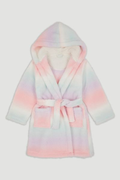 Ombre Rainbow Robe
