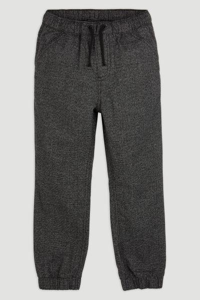 Grey Check Joggers