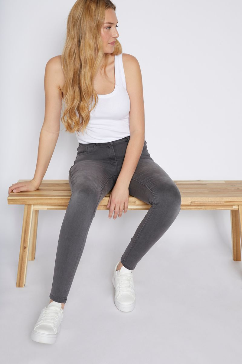 Grey Shaper Jeans