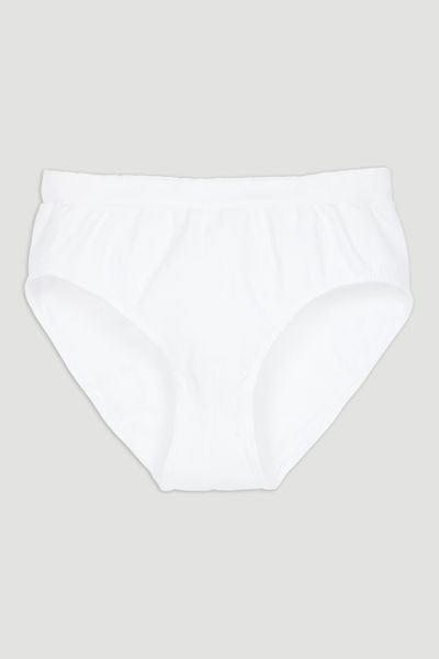 White Seam-Free Full Brief