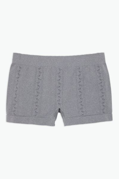 Grey Seam Free Short