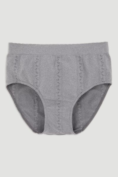 Grey Seam-Free Full Brief